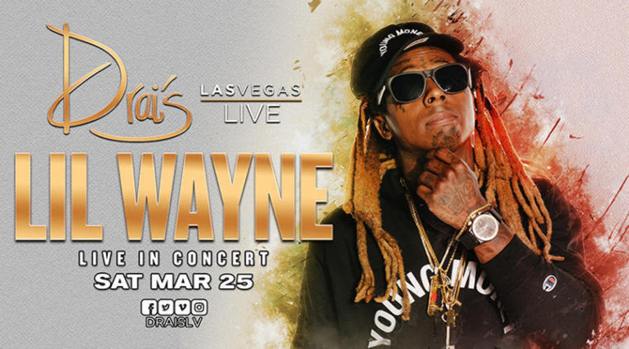 Lil Wayne - Photo credit: Drai's Nightclub