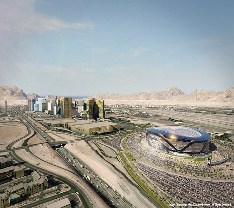 Las Vegas Raiders - Photo credit: MANICA Architecture