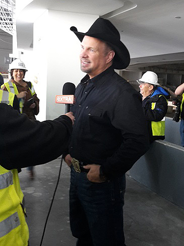Garth Brooks - press conference