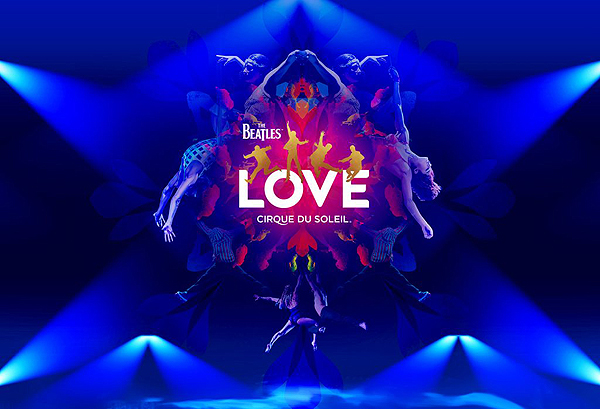 The Beatles Love by Cirque du Soleil - Photo by Matt Beard