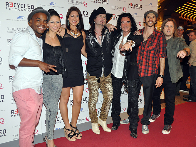 Recycled Percussion Cast of Raiding The Rock Vault 21533
