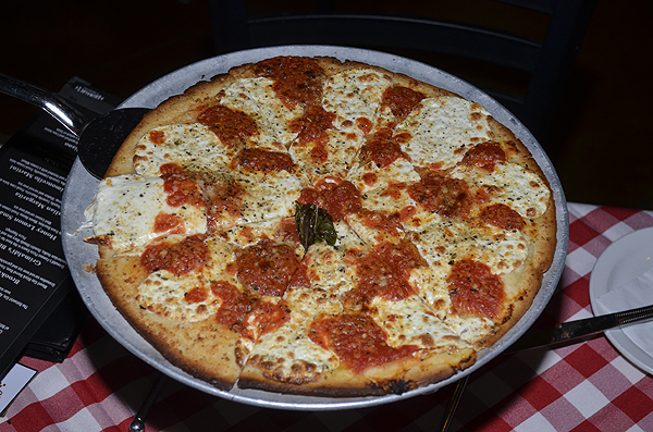 Grimaldi's Coal-Brick Oven Pizzeria - Gluten Free Pizza - Photo credit: Stephen Thorburn