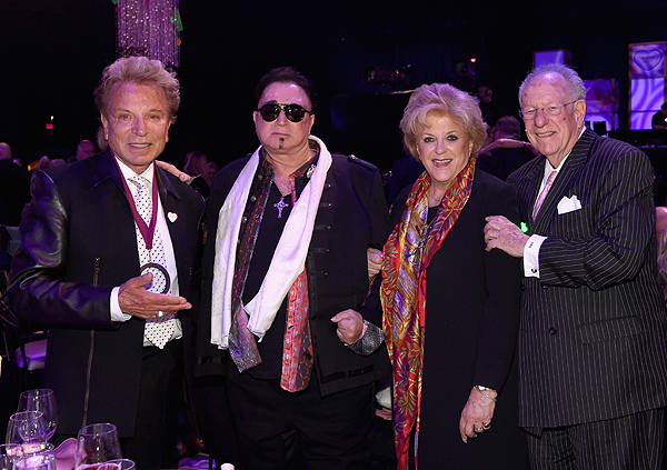 Siegfried and Roy with Mayors Carolyn Goodman and Oscar Goodman