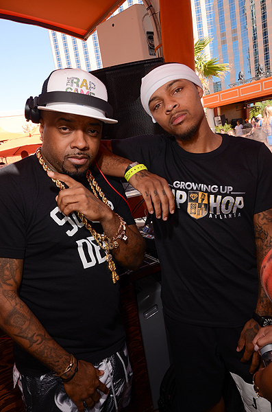 Jermaine Dupri Bow Wow at TAO Beach