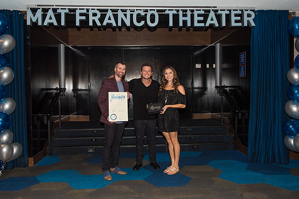 Cast of MAT FRANCO MAGIC REINVENTED NIGHTLY at Mat Franco Theater Unveiling 7.10.17 credit Mike KTony Tran Photography