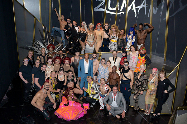 RuPaul Charles at Zumanity by Cirque du Soleil July 8 2017 1