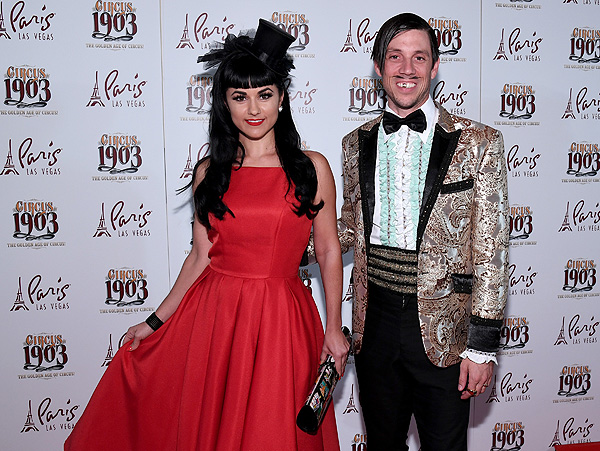 ABSINTHEs The Gazillionaire and Green Fairy Melody Sweets Attend Opening Night of CIRCUS 1903 at Paris Las Vegas 7.25.17 Ethan Miller