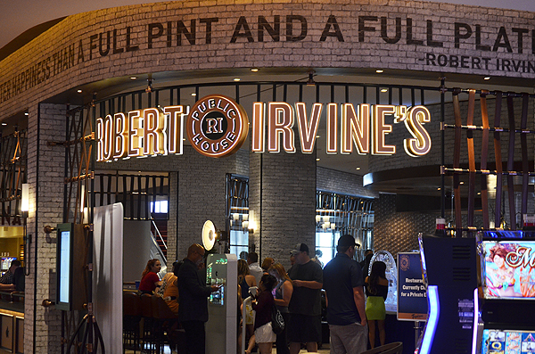 Robert Irvine's Public House entrance - Photo credit: Stephen Thorburn