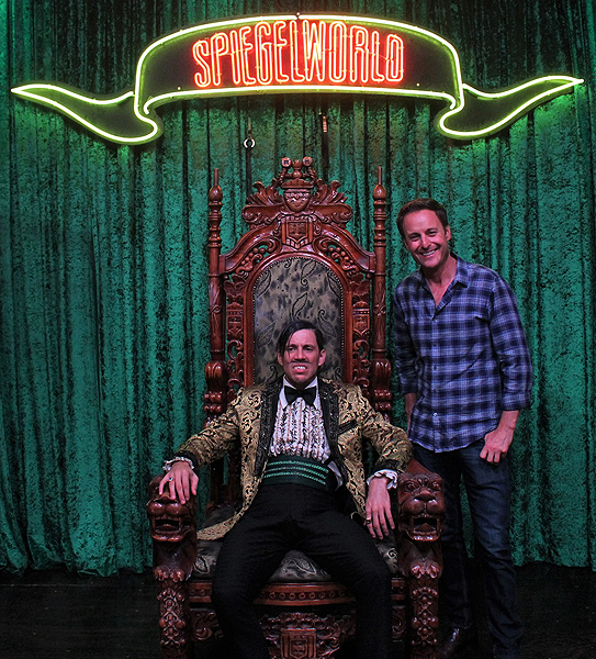 Chris Harrison Attends ABSINTHE at Caesars Palace 8.10.17 credit Joseph SandersSpiegelworld