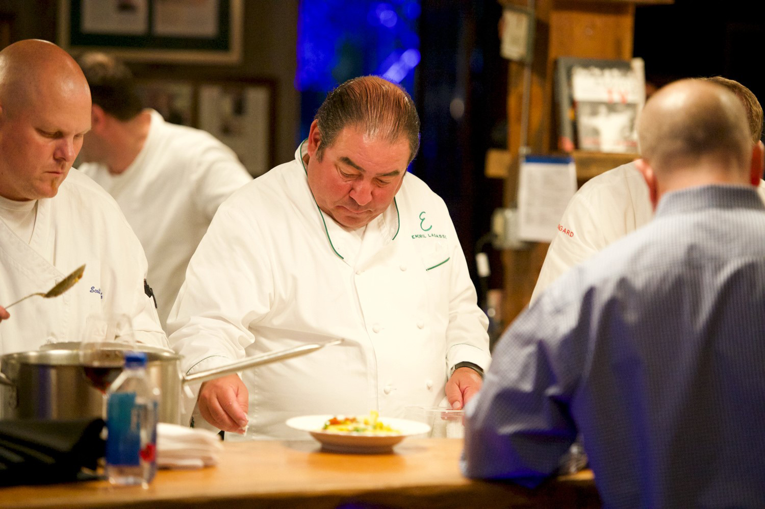 Keep Memory Alive 2017 Summer Social and Rodeo at Shakespeare An Evening with Emeril Emeril Lagasse in the kitchen