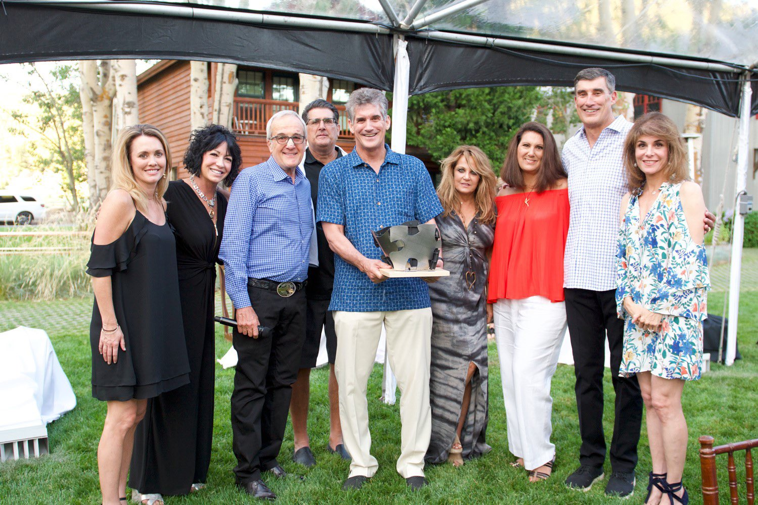 Keep Memory Alive 2017 Summer Social and Rodeo at Shakespeare Community Leadership Award Recipients Carano Family
