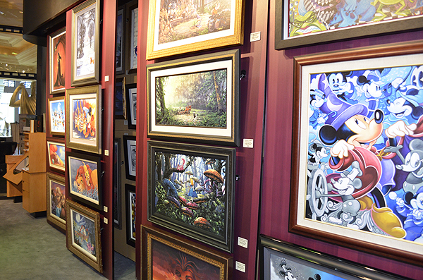 Magical Memories DISNEY Fine Art Gallery - Photo credit: Stephen Thorburn