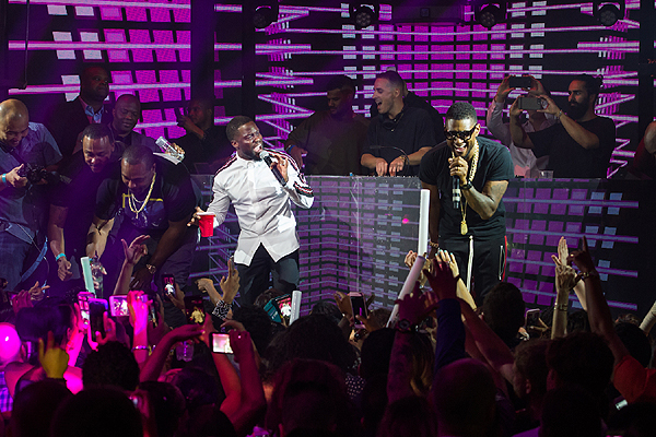 Kevin Hart Usher at The Official HartBeat Weekend After Party Hosted by Kevin Hart at Marquee Nightclub