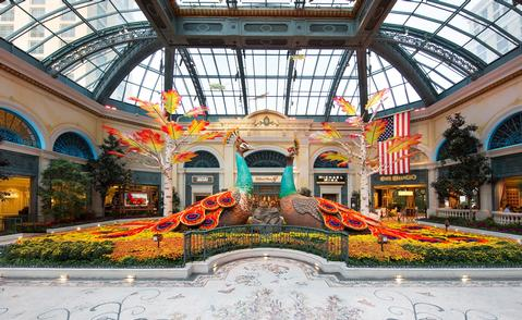 Bellagio's Conservatory & Botanical Gardens Unveils New Dazzling Autumn Display - Photo courtesy of Bellagio's Conservatory & Botanical Gardens