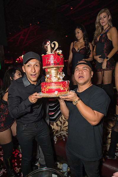 VICE and DJ Five at TAO 12th Anniversary