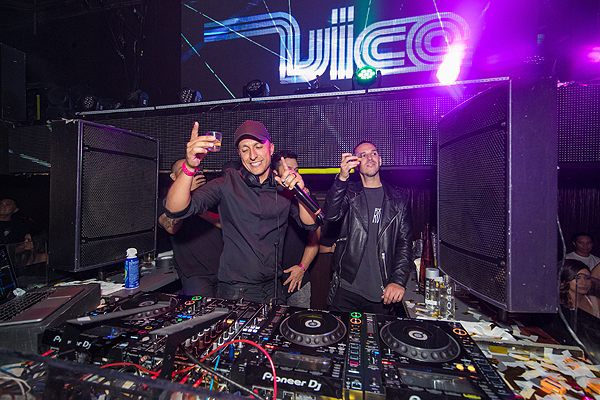 DJ Vice and Eric Dlux at TAO 12th Anniversary