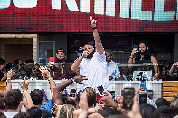 Khaled at Marquee Dayclub Photo Credit Andrew Dang