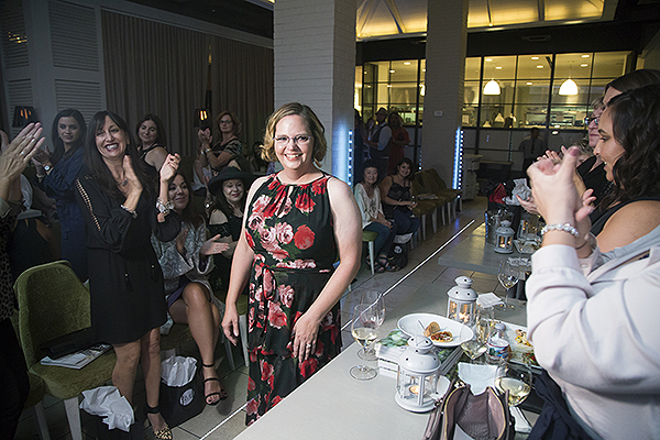 SWAC beauty transformation recipient Karen Belote Stevens unveils makeover Credit Lucinda Flint Photography