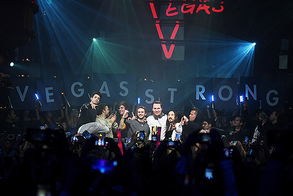 Vegas Strong Artist Group Photo Photo Credit Denise Trucello