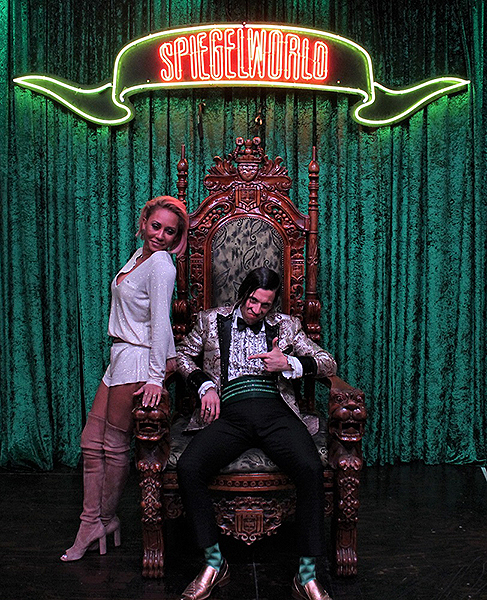 Mel B Attends ABSINTHE at Caesars Palace 12.7.17 credit Joseph Sanders Spiegelworld