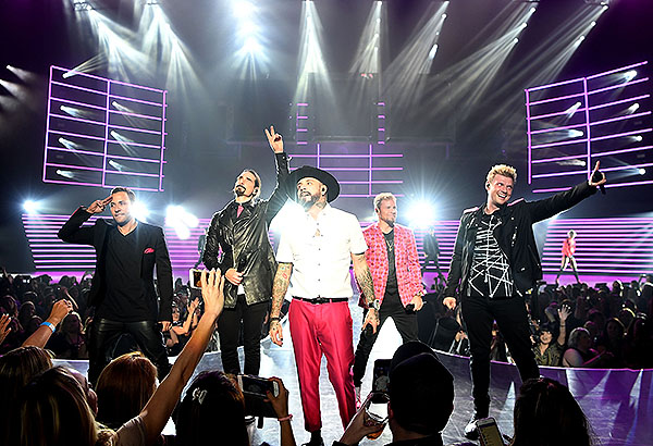 Backstreet Boys at The AXIS at Planet Hollywood photo credit Denise Truscello