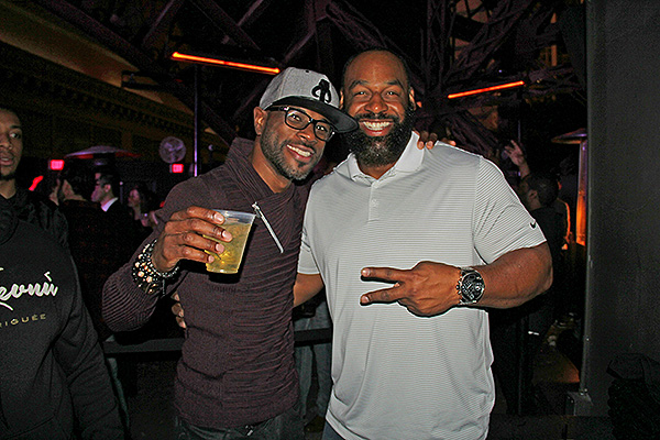 Donovan McNabb and DJ ShadowReD at Chateau