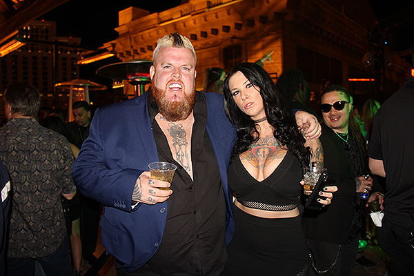 Mike Busey and Guest Chateau Nightclub