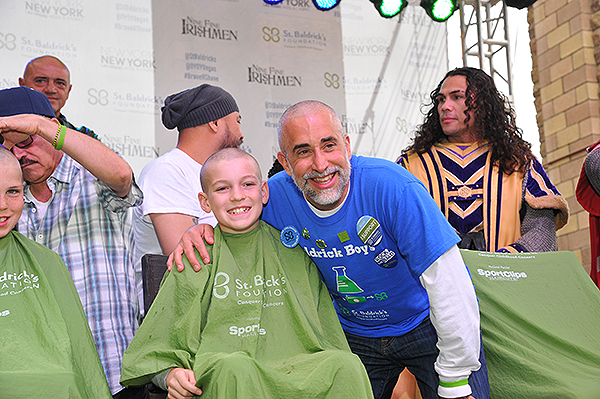 Baldrick Boys team members at St. Baldricks Fundraiser at New York New York Hotel Casino 2018