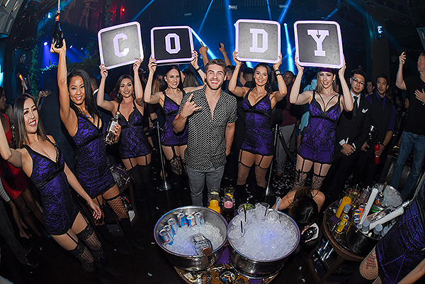 Cody Christian at Marquee Nightclub