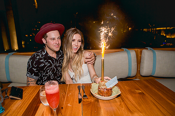 Audrina Patridge and Ryan Cabrera Birthday Celebration Herringbone Los Cabos 5.9.18 Photo Credit Cabo Pictures