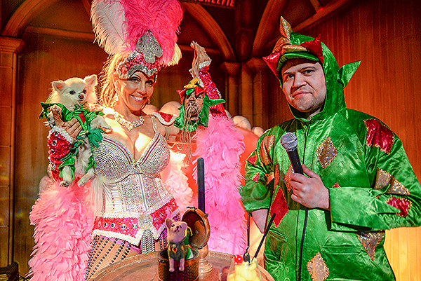 Piff the Magic Dragon unveils his shrunken head at The Golden Tiki