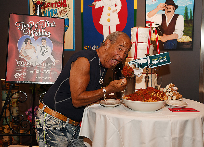 Irwin Raymer at Tony n Tinas Wedding Opening Night Celebration at Buca di Beppo inside Ballys Las Vegas Friday June 15