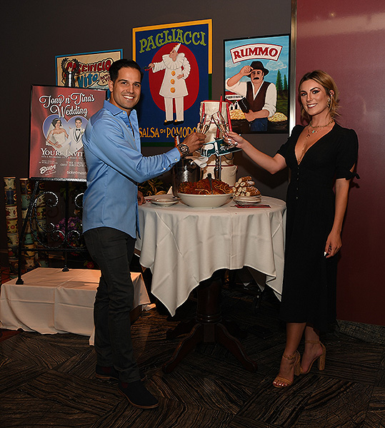 Ricardo Laguna at Tony n Tinas Wedding Opening Night Celebration at Buca di Beppo inside Ballys Las Vegas Friday June 15