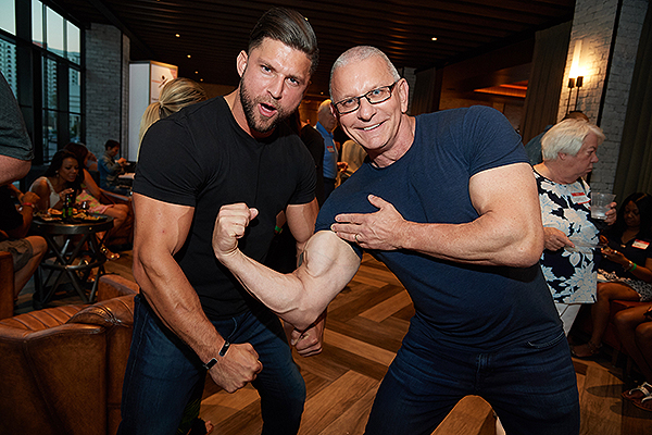 TropLV SummerCookout2018 7 Dave Reid and Robert Irvine Credit Powers Imagery