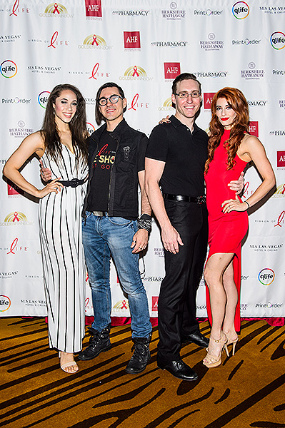Cast members from BAZ walk the red carpet at Ribbon of Life Credit Brenton Ho