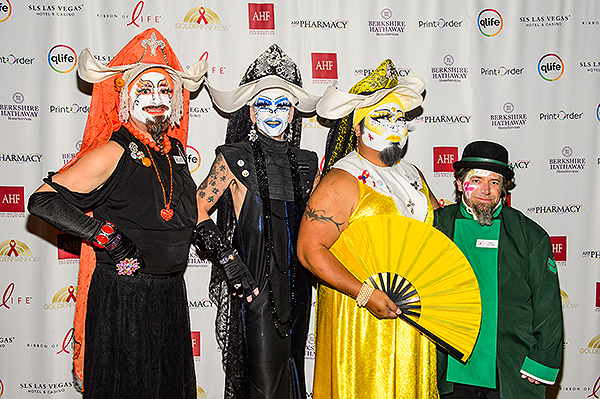 Sin Sity Sisters of Perpetual Indulgence show their support for Golden Rainbow Credit Brenton Ho