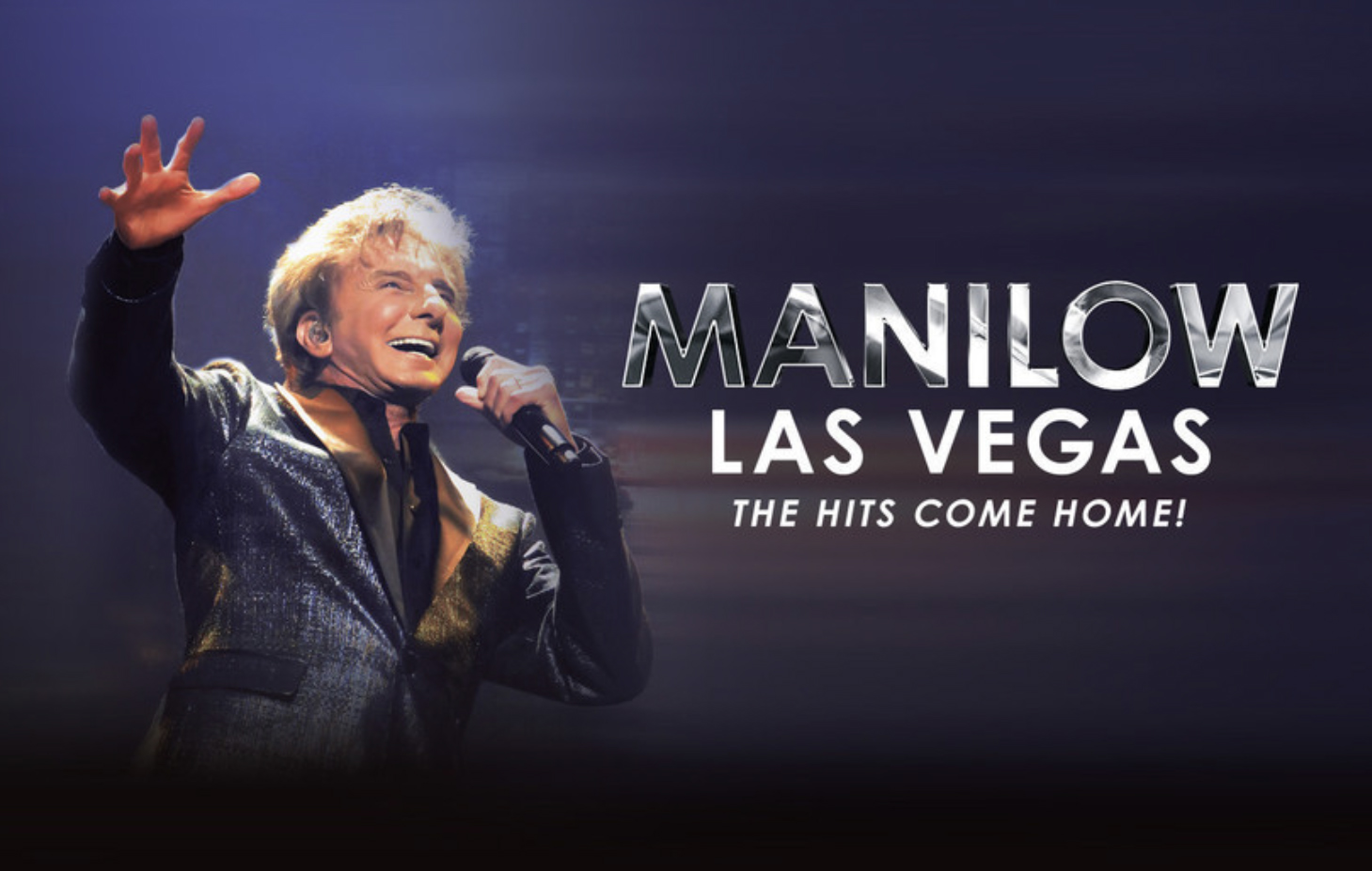 Barry Manilow - Photo courtesy of Westgate Las Vegas Resort & Casino