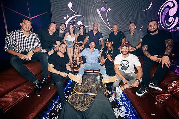 Ryan Lochte at Hakkasan Las Vegas Restaurant and Nightclub Aug. 16 photo credit Joe Janet 1