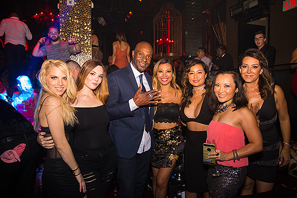 Jerry Rice at TAO Nightclub LV 9.7.18