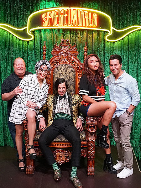 Jeannie Mai attends ABSINTHE 9.29.18 Credit Fabian Pino Spiegelworld Photography 1