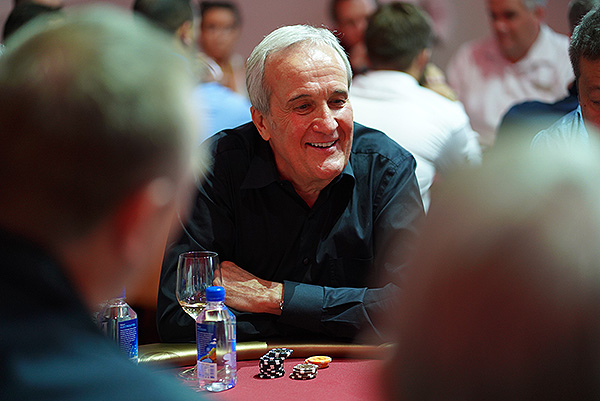 Larry Ruvo at the Keep Memory alive Texas Hold em charity Poker Tournament on Sept. 21