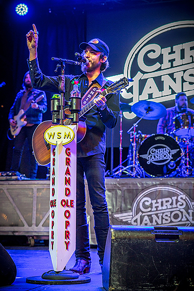 Chris Janson wraps up the 32nd Annual Downtown Hoedown on 3rd Street Stage at Fremont Street Experience 12.5.18