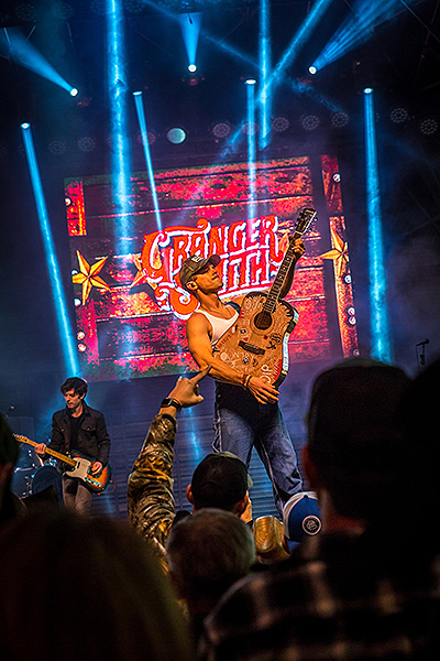 Granger Smith performs during Downtown Hoedown at Fremont Street Experience 12.5.18