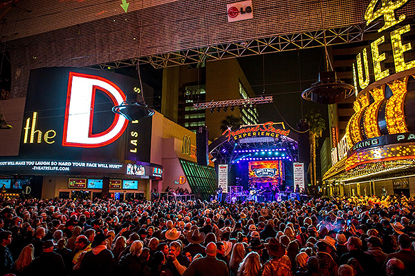 Rodeo fans celebrate return of NFR during 32nd Annual Downtown Hoedown at Fremont Street Experience 12.5.18