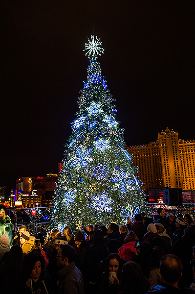 The Cosmopolitan of Las Vegas Tree Lighting 1