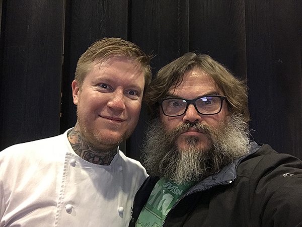 MB Steak Chef Patrick Munster and Jack Black