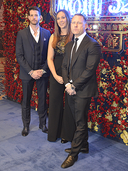 Mott 32Mott 32 General Manager Nathan Grates Group FB Director Kaitlyn Ix and Senior Group Director of Operations Michael Main 4666