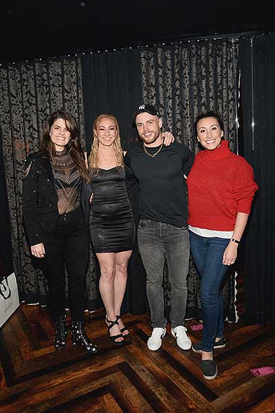 Gus Kenworthy Attends MAGIC MIKE LIVE at Hard Rock Hotel Casino 1.19.19 2
