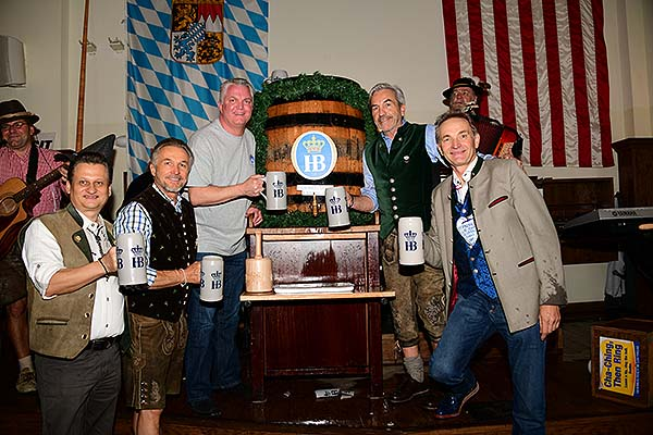 Hofbrauhaus Las Vegas Owners and LVMPD Chief Christopher Darcy