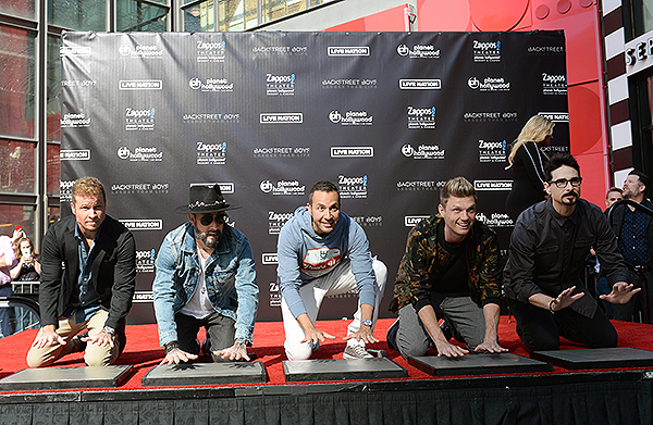 Brian Littrell AJ McLean Howie Dorough Nick Carter and Kevin Richardson 1